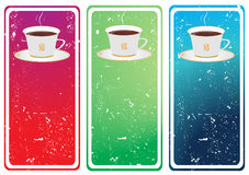 Template designs for coffee shop and restaurant. Illustration stock illustration