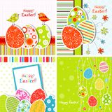 Template Easter greeting card Royalty Free Stock Image
