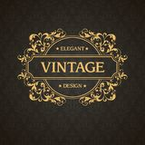 Template flourishes calligraphic elegant ornament lines. Ornamental design for invitation, greeting card, certificate, logo. Template flourishes calligraphic vector illustration
