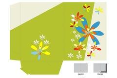 Template for folder design Stock Photos