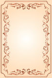 Template frame. For text, illustration Stock Image