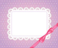Template  frame. Design for card Royalty Free Stock Image