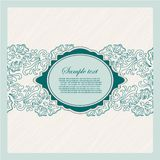 Template frame. Abstract background. Vector. Vintage Template frame. Abstract background. Vector illustration stock illustration