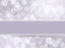 Template frame for Christmas card Royalty Free Stock Photos