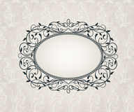 Template frame  design for card.  Royalty Free Stock Images