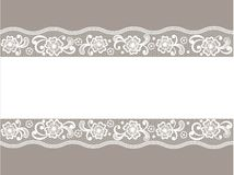 Template frame design for card. Template frame design for greeting card Royalty Free Stock Photo
