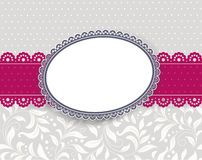 Template frame design for card Stock Photography