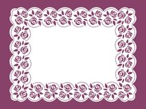Template frame  design for card. Royalty Free Stock Photos