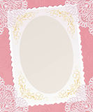Template  frame design  for card.. Royalty Free Stock Photography