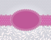 Template frame design for card Royalty Free Stock Images