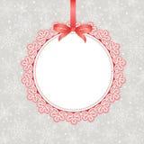 Template frame design for greeting card royalty free illustration