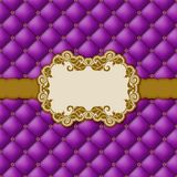 Template frame design for greeting card . Royalty Free Stock Image