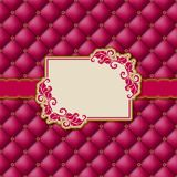 Template frame design for greeting card . Royalty Free Stock Photos