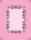 Template frame design for greeting card Royalty Free Stock Photos
