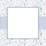 Template frame design for greeting card Stock Photo