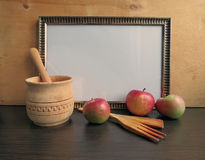 Template frame for writing Royalty Free Stock Photography
