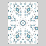 Template for greeting and business cards. Template for greeting and business cards, brochures, covers with floral motifs. Oriental pattern. Mandala. Wedding Royalty Free Stock Image