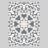 Template for greeting and business cards, brochures, covers. Oriental pattern. Mandala. Wedding invitation, save the date, RSVP Royalty Free Stock Images