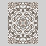 Template for greeting and business cards, brochures, covers. Oriental pattern. Mandala. Wedding invitation, save the date, RSVP vector illustration