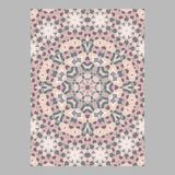 Template for greeting and business cards, brochures, covers. Oriental pattern. Mandala. Wedding invitation, save the date, RSVP Stock Photos
