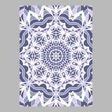 Template for greeting and business cards, brochures, covers. Oriental pattern. Mandala. Wedding invitation, save the date, RSVP Royalty Free Stock Photography