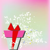 Template for greeting card. Universal , web page, background Stock Images
