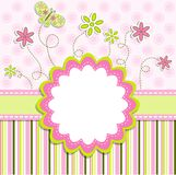 Template greeting card,  Stock Images