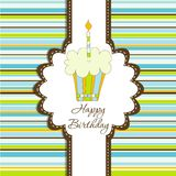 Template greeting card Royalty Free Stock Photos