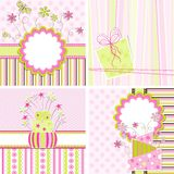 Template greeting card stock illustration