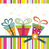 Template greeting card, vector Stock Photo