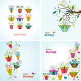 Template greeting card, vector Royalty Free Stock Photography