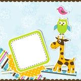 Template greeting card, vector Stock Photos