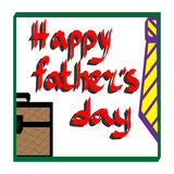 Template happy father`s day on the holiday. Template happy father`s day to the theme of the festival on 18 June Stock Image