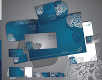 Template of identity set Royalty Free Stock Images