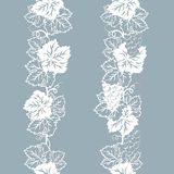 Template for laser cutting, plotter, and silkscreen printing. Vine. Grape royalty free illustration