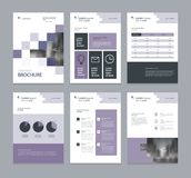 Template layout design with cover page for company profile ,annual report , brochures, flyers, presentations. Leaflet, magazine,book . and vector a4 size for Royalty Free Stock Photo