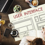 Template Layout Web UI Website Concept Royalty Free Stock Photo