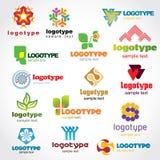 Template logo royalty free stock image