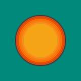 Template material design Logo. Vector illustration Stock Photo
