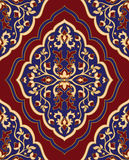 Template for oriental carpet. Royalty Free Stock Photo