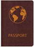 Template of passport Stock Image
