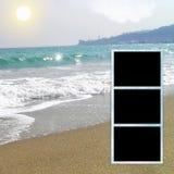 Template photo album. vector illustration