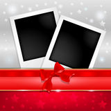 Template photo frames Royalty Free Stock Photography