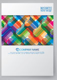 Template report cover  design Royalty Free Stock Image