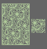 The template seamless pattern for decorative panel Royalty Free Stock Image