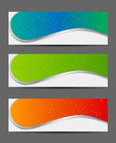 Template for smart phone and mobile phone banner Stock Images