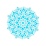 Template snowflakes laser cut and engraved. Stock Photography