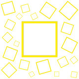 Template with squares Stock Images