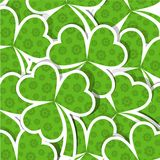 Template St. Patrick's day pattern Stock Photos