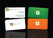 Logo & Bussiness Card Temp 01. Template Stationery for your company Stock Illustration